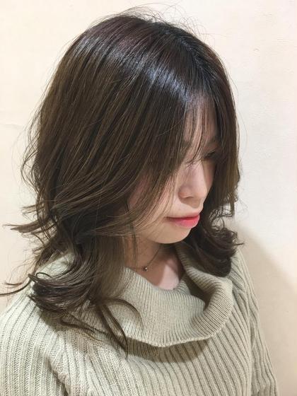 [💓ちょっと気になった時に💓]前髪カット&簡単コテ巻き仕上げ