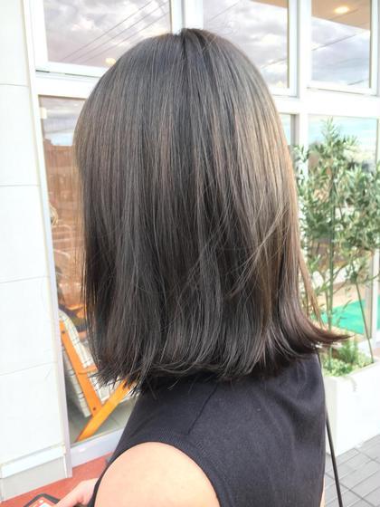 王道アッシュグレージュ HAIR&MAKE  EARTHふじみ野店所属・桑島新のスタイル