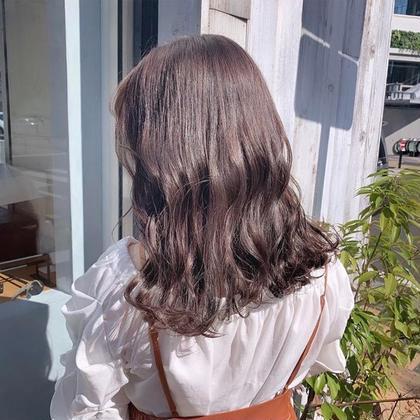 🍦透明感カラー+プレミアム髪質改善トリートメント+オリジナルトリートメント🍦♡【炭酸泉ヘッドスパ&ブロー付】
