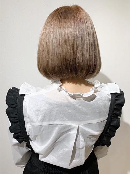 髪のクセが気になる方必見ブリーチ毛でも施術可能‼︎【最新 ハホニコ KERATEX 酸熱トリートメント 髪質改善】