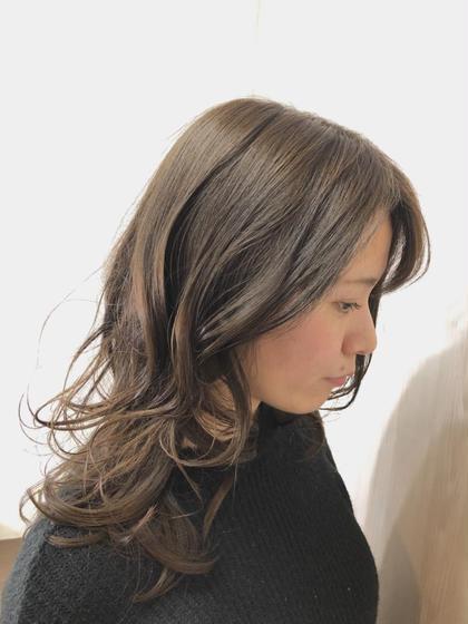 ⭐️12月🎄限定⭐️カット+カラー+新✨髪質改善トリートメント