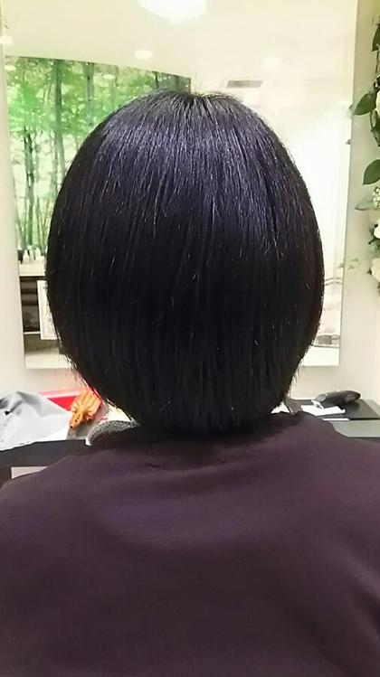 ショート ショートボブスタイル②