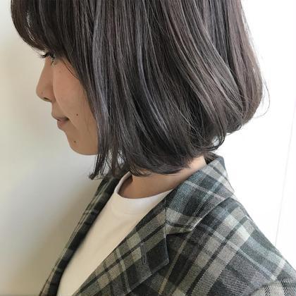 ラベンダーアッシュカラー✨✨✨ 石橋美香のヘアカラーカタログ