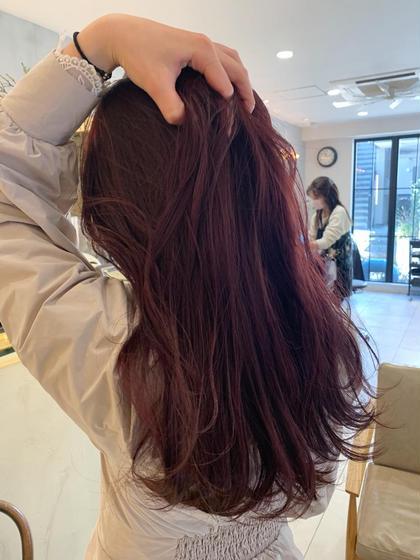 💡土日祝日限定クーポン💡透明感ワンカラー+髪質改善ケアトリートメント