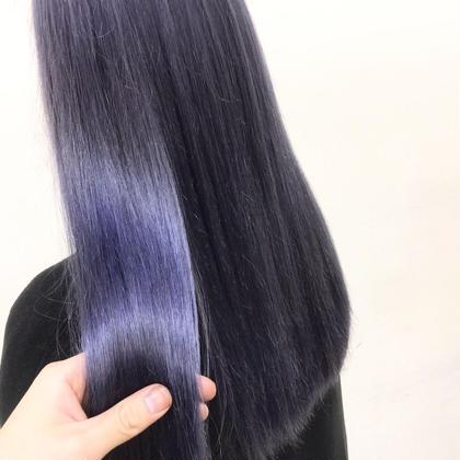 ブリーチ毛でもこの艶✨痛んで困っている髪の毛はグラスヘアトリートメントかなりオススメで限定価格なのでお早めに! Hair &MakeZEST吉祥寺店所属・島田優斗のスタイル
