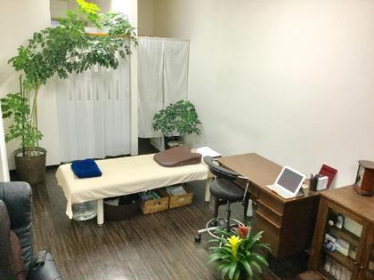 院内は開放的、観葉植物に囲まれた洋楽の流れる空間で、リラックスして施術を受けていただけます* 篠木整骨院所属・篠木徹陽のフォト