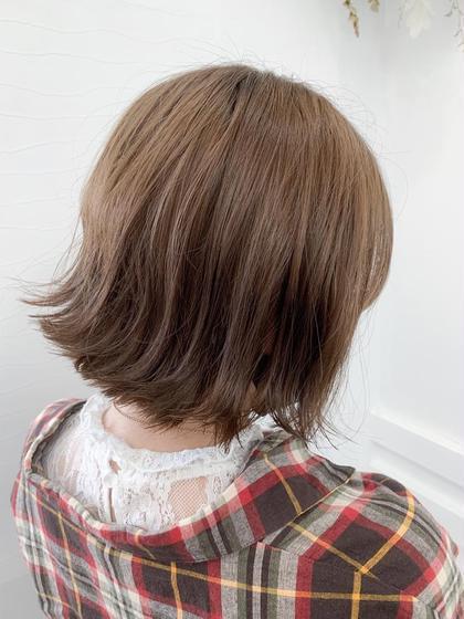 【🌺新規限定50%オフ🌺】前髪カット➕カラー➕生トリートメント