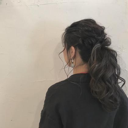 簡単カジュアルポニーアレンジ  奈村彩里のスタイル