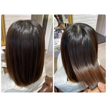 ご新規様限定♡毛髪強度140%up✨TOKIOトリートメント×縮毛矯正