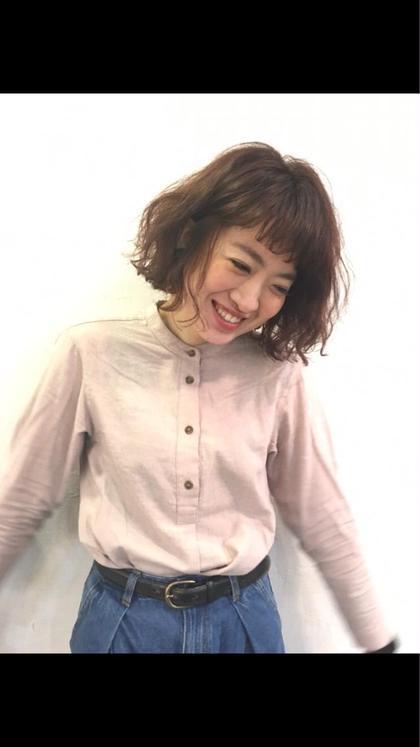 新色カラー フェアリーピンク cut&colorLOTUS所属・カレン小林のスタイル