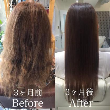 🉐 人気No.1髪質改善🦋美髪チャージ&トリートメント