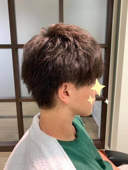 サイドにブロックをいれました ⋆*°  全体的に束感と軽さ、前髪は少し重めの人気スタイル☽⋆゜