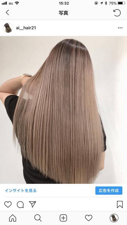 髪質改善カットサイエンスアクア