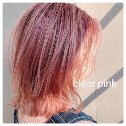 ・【ご来店1ヶ月以内の方】前髪カット×カラー×トリートメント