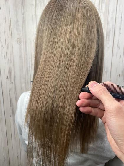【ブリーチ、ダメージ毛可能】髪質改善酸性縮毛矯正+5STEPTOKIOトリートメント