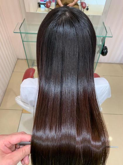 美髪!天使の輪!髪質改善トリートメント+カット☆