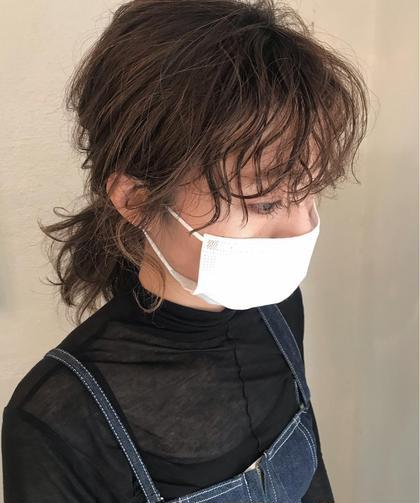 【新規限定🌟】前髪パーマ+ダメージ予防トリートメント+カット