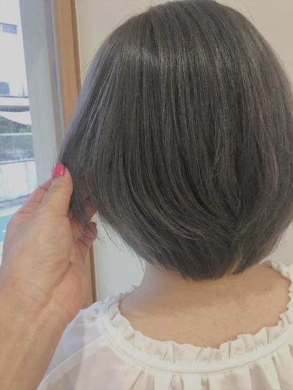 【平日クーポン】ショートヘアの方のみ限定✨レディースカット❤