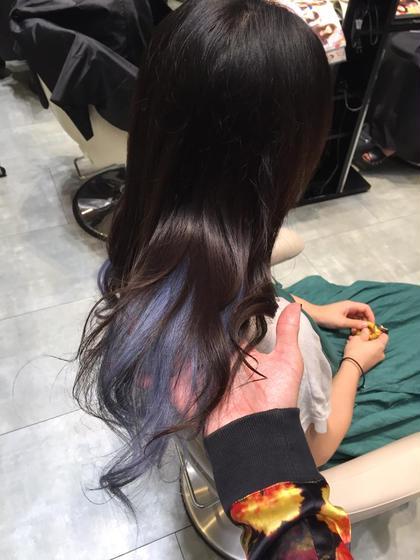 カラー ショート セミロング ミディアム ロング イルミナカラー☆ インナーカラー❤︎