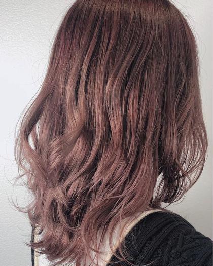pink purple 🌼 ・ 透明感たっぷり◎ 暖色color人気です♡ ・ ・ ブリーチ1回必要です✔️