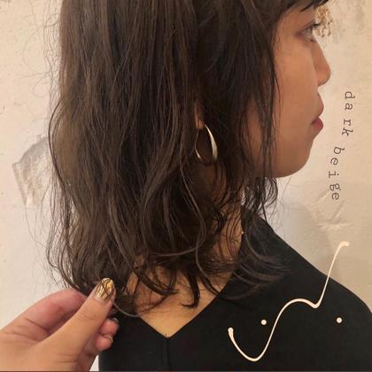 〻🐵【お手入れ楽チン💙】Fier カット+ 似合わせパーマ+3stepトリートメント🐵〻