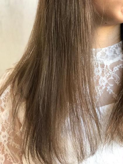 【新規】デザインカット & ポイント縮毛矯正