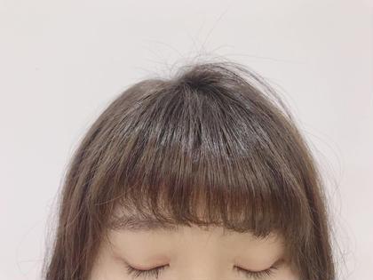 カット+前髪パーマ 前髪パーマをかけるだけで、とってもお手入れがしやすい仕上がりになります✂︎