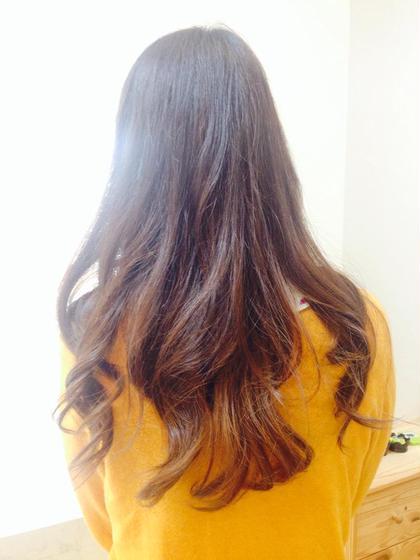 グラデーションカラー RIO hair&make所属・小林ゆきのスタイル
