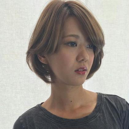 外国人風カラーでお洒落度アップ! K:R鶴川所属・yokoyamayukari のスタイル