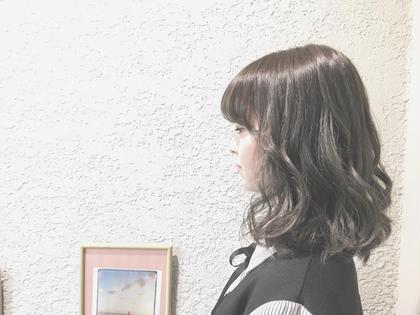 前髪カット & 前髪縮毛矯正