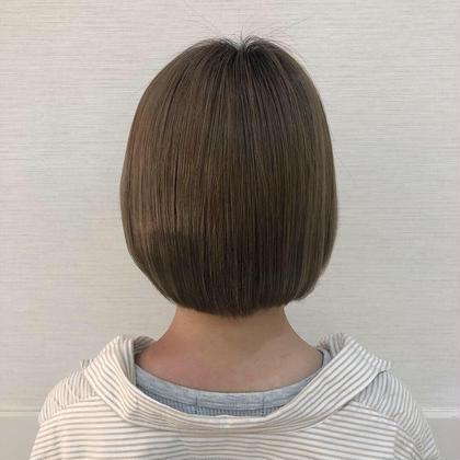ブリーチを繰り返した髪でもサラサラしっとり〜〜 津久居巴菜のスタイル
