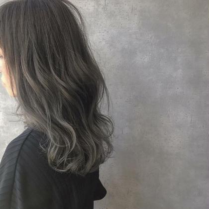 【*24歳以下限定*】7月限定♪デザインcut+透明感カラー
