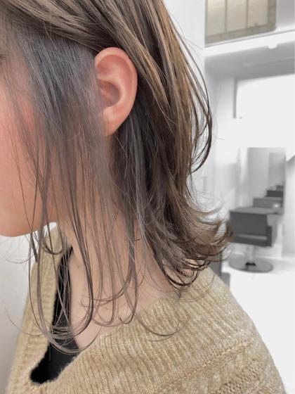 📸インスタ映え📸🍋🍓インナーカラー🍊🐬+ALIVEオリジナルクイックトリートメント【イヤリングカラー】