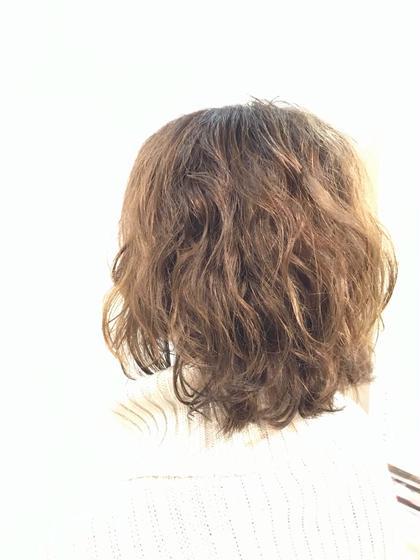 【似合わせカット&ニュアンスパーマ】+トリートメント+ミニホームケアプレゼント