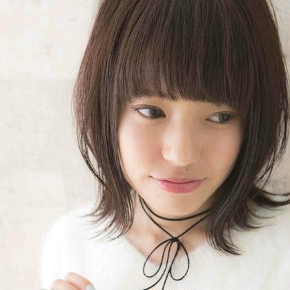 💕印象をガラリと変えて可愛く💕前髪カット