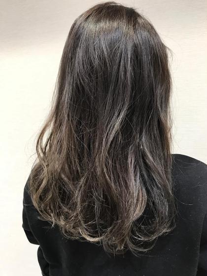 ✨透明感&ダメージレス&圧倒的ツヤ✨イルミナカラー&美髪トリートメント