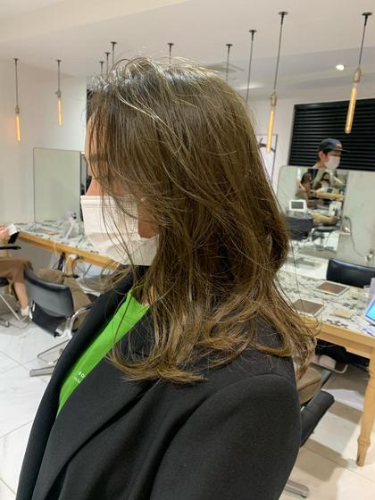 【透明感No.❶グレージュ.オリーブ.ベージュ系】カラーのみ➕髪質改善シャンプー➕トリートメント