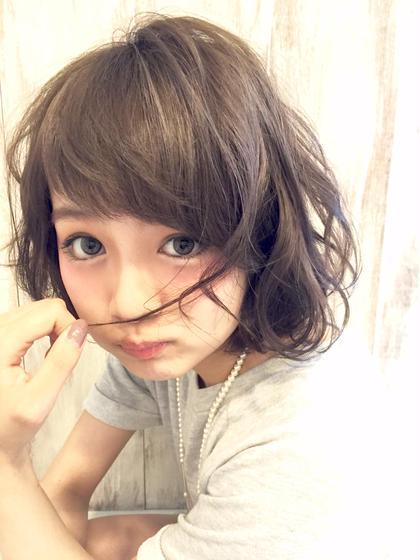 吉田太紀のショートのヘアスタイル