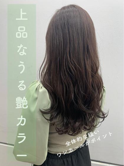 🌈🉐本日限定🉐🌈うる艶カラー+保湿トリートメント3850円
