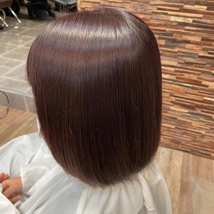 🌈100%コラーゲンワンカラー🌈いつものカラーで髪質改善💕