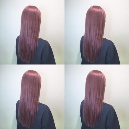 【🇰🇷韓国好き大人気🇰🇷】艶感抜群暖色系カラー&髪質改善トリートメント‼️