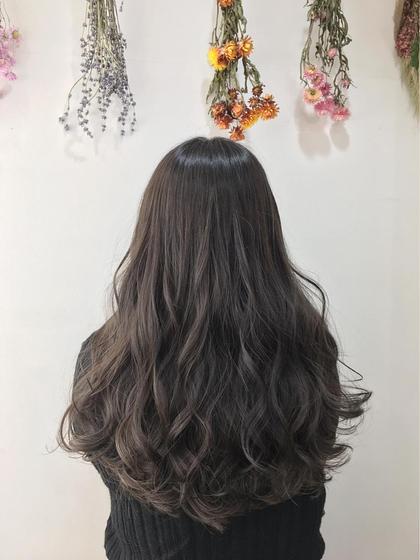 ❤️✨【ダメージレス】外国人風イルミナカラー➕毛髪補修うる艶トリートメント✨❤️