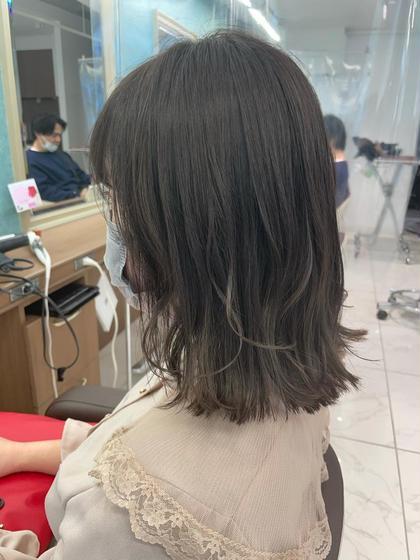 ♡初回50%ツヤサライルミナカラー+カット+トリートメント🌿♡