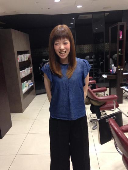 ビフォー撮り忘れました。 miq西新井店所属・いくたたかやのスタイル