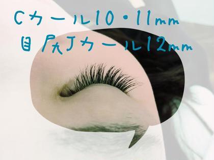 本日のお客様 片目85本ボリュームたっぷり10月はオフ付きで4,000円 rêve33所属・ヤマトマオのフォト
