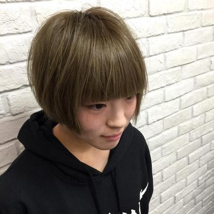 もがたん風重めショート S.hair&nail所属・彦坂凌のスタイル