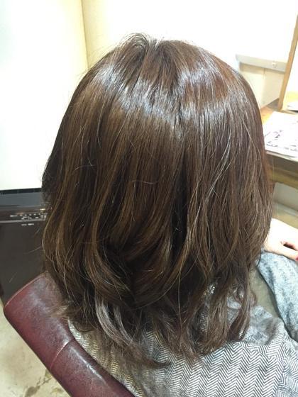 ミディアムボブ (カラー)ライムアッシュベージュ! Blanc hair所属・浅田大輝のスタイル