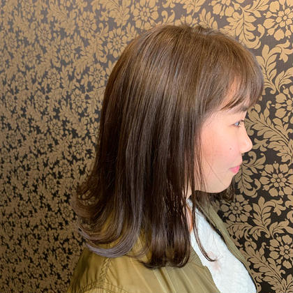[おトク]❤(ブリーチなし)×(カット✂︎)透明感カラー+色艶トリートメント