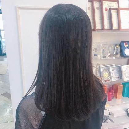☔カット+縮毛矯正+トリートメントコース🐸