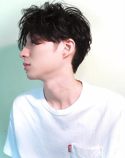 【🇰🇷BTS風🇰🇷】カルマパーマ+骨格補正カット
